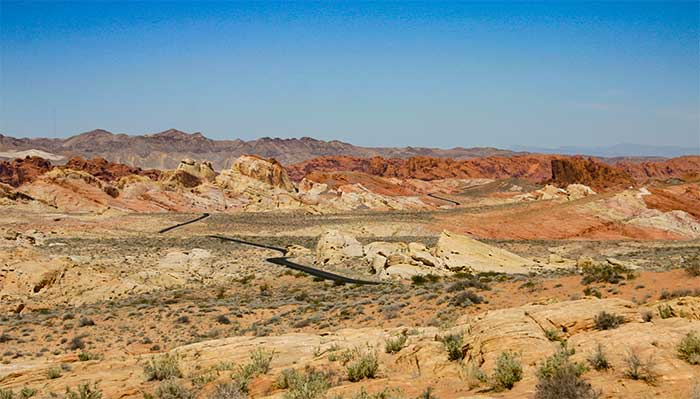Valley Of Fire State Park Nevada Desertusa