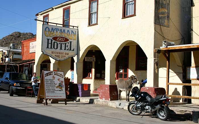 Oatman Arizona And The Wild Mules Desertusa