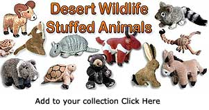 Desert Wildlife Stuffed Animals